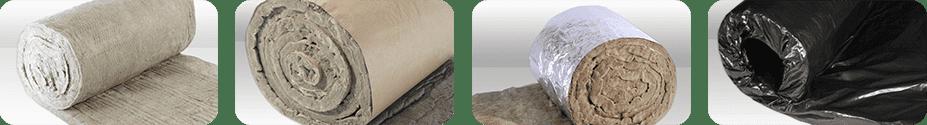 Feltro de Lã de Rocha Revestido